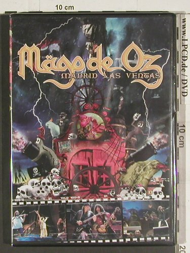 Mägo de Oz: Madrid Las Ventas, FS-New, Locomotive(), PAL, 2005 - DVD - 20006 - 10,00 Euro