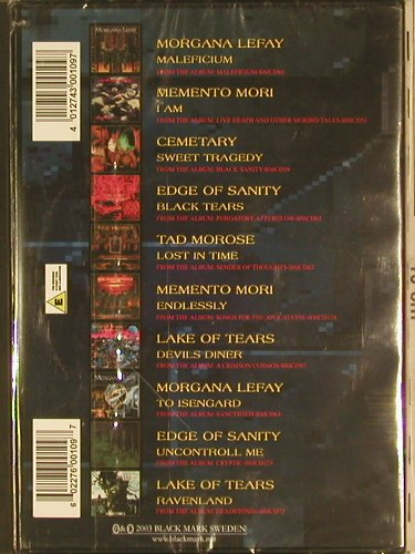 V.A.Metal by Metal: Morganna Lefay...Lake of Tears,10Tr, Black Mark(BMDVD10), , 03 - DVD-V - 20035 - 7,50 Euro