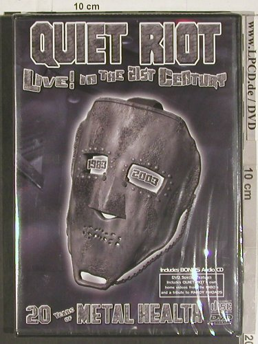 Quiet Riot: Live!in the 21st Century+BonusAudio, 2RS(70139), FS-New, 2004 - DVD - 20083 - 12,50 Euro