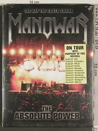 Manowar: The Day The Earth Shook, the Absolu, MagicCircle/SPV(), EU, FS-New, 06 - 2DVD - 20121 - 17,50 Euro