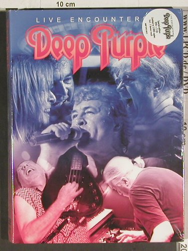 Deep Purple: Live Encounters,LimED. FS-New, Thames Live Ltd.(MMP DVD 0032), , 2004 - 3DVD-V - 20139 - 20,00 Euro