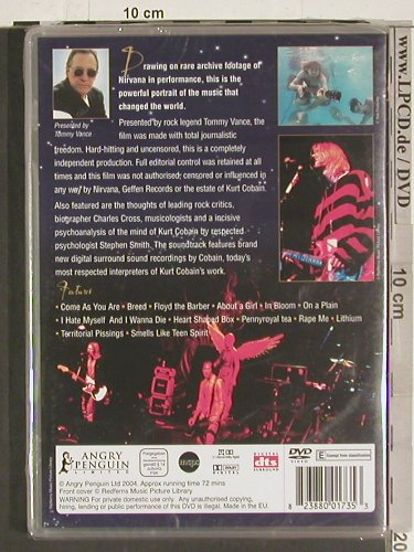 Nirvana: Rock Review, ..retrospective,FS-New, Angry Penguin(PEN1735), EU, 2004 - DVD-V - 20163 - 5,00 Euro