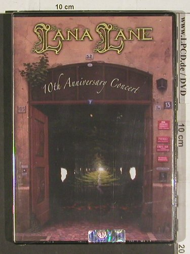 Lana Lane: 10th Anniversary Concert, FS-New, Frontiers(), I, 2006 - DVD-V - 20166 - 2,50 Euro