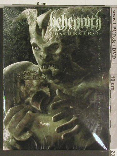 Behemoth  CRush.fUKK.CReate: Requiem for Generation Armagedon, Regain Record(RR 054), FS-New,  - 2DVD-V - 20170 - 14,00 Euro