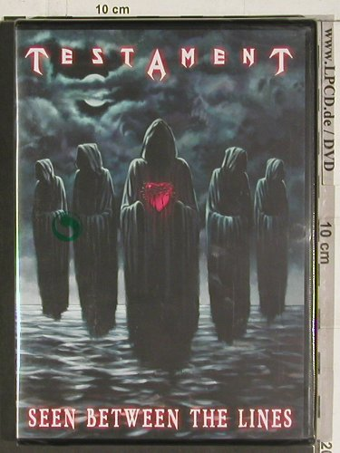Testament: Seen Between the Lines, FS-New, Escapi Music(TES001UKD), , 2005 - DVD-V - 20193 - 10,00 Euro