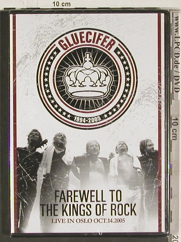 Gluecifer: Farewell to the Kings of Rock, Gluecifer(MIG011), D, FS-New, 2004 - DVD-V - 20229 - 10,00 Euro