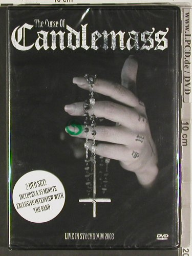 Candlemass: The Curse of, Live Stockholm, Escapi(EMUS20034), EU,FS-New, 2005 - 2DVD-V - 20236 - 10,00 Euro