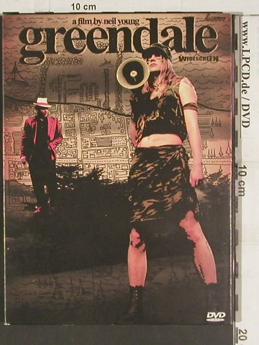 Greendale:  a Film by Neil Young, Sanctuary(SVE4004), PAL, 2003 - DVD-V - 20067 - 5,00 Euro