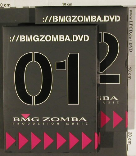 V.A.BMGZomba.dvd: 01 + 02, Production Music(Software), BMG(), EJ?,FS-New,  - DVD*2 - 20185 - 5,00 Euro