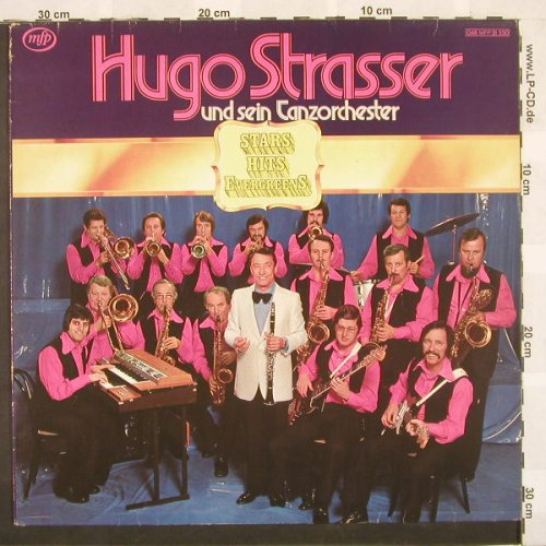 Strasser,Hugo & Tanz-Orch.: Stars Hits Evergreens, MFP(048 MFP 31550), D,  - LP - A4931 - 4,00 Euro