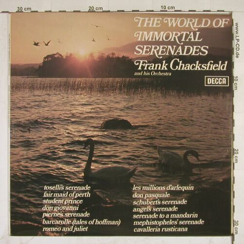Chacksfield,Frank & his Orch.: The World Of Immortal Serenades, Decca(SPA 298), UK, 58 - LP - A7736 - 5,00 Euro