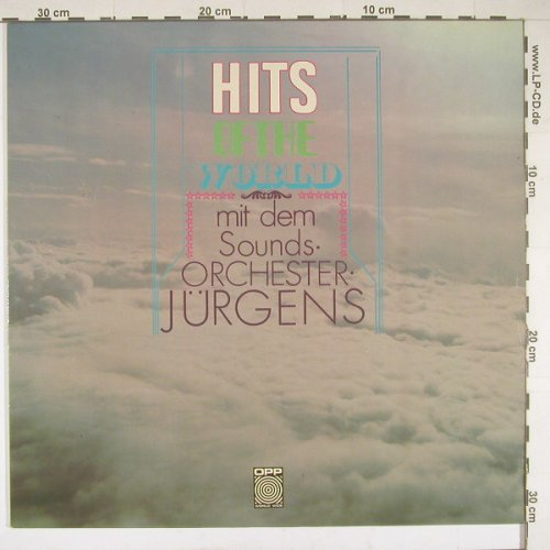 Orchester Jürgens: Hits of the World, OPP(5-29), , 70 - LP - B1209 - 6,00 Euro