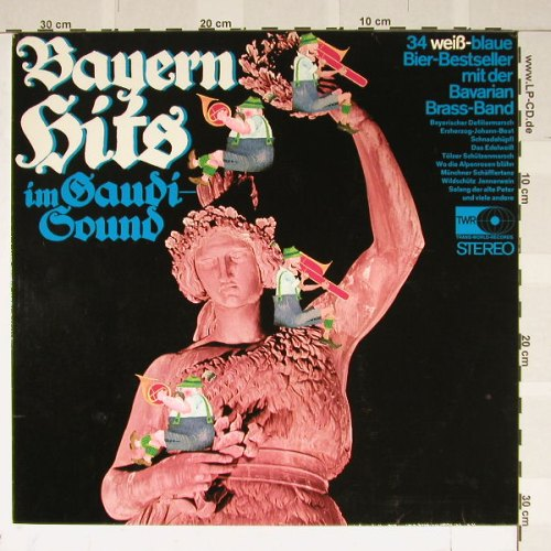 Bavarian-Brass-Band: Bayern Hits in Gaudi-Sound, TransWorld(79 995), D,  - LP - B2109 - 5,00 Euro