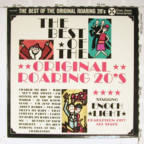 Light,Enoch&Charston City Allstars: The Best o.t. Original Roaring 20's, GrandAward(GA 33 7001), US, 60 - LP - B2168 - 6,00 Euro
