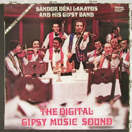 Lakatos,Sandor and his Gipsy Band: The Digital Gipsy Music Sound, Qualiton(SLPD 10178), H, 82 - LP - B3567 - 5,00 Euro