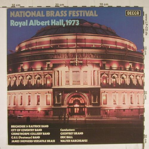 V.A.National Brass Festival 1973: 7 Tr., Decca(SKL 5171), UK, 73 - LP - B444 - 5,00 Euro