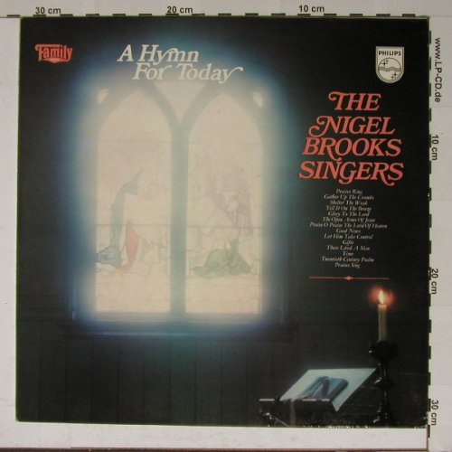 Brooks Singers,Nigel: A Hymn For Today, Philips(6382 038), , 72 - LP - B5828 - 5,50 Euro