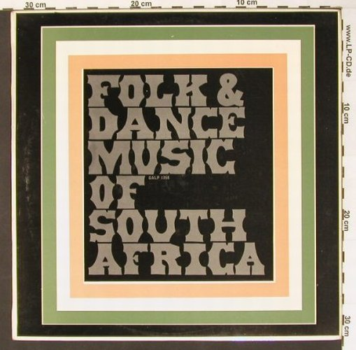 Berg,Danny & his Orchestra: The Folk&Dance M.o South Africa, Gallotone(GALP 1358), ,  - LP - B7428 - 9,00 Euro