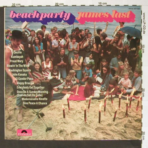 Last,James: Beachparty, Polydor(2371 039), D, 70 - LP - B7509 - 5,00 Euro