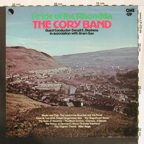 Cory Band: Pride of the Rhondda, One Up(OU 2165), UK,  - LP - B7770 - 7,50 Euro