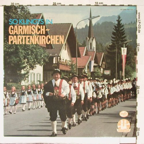 V.A.So klingts in: Garmisch-Partenkirchen, mfp/IsaarT(1 C 048-42 113), D, 74 - LP - B9297 - 5,00 Euro