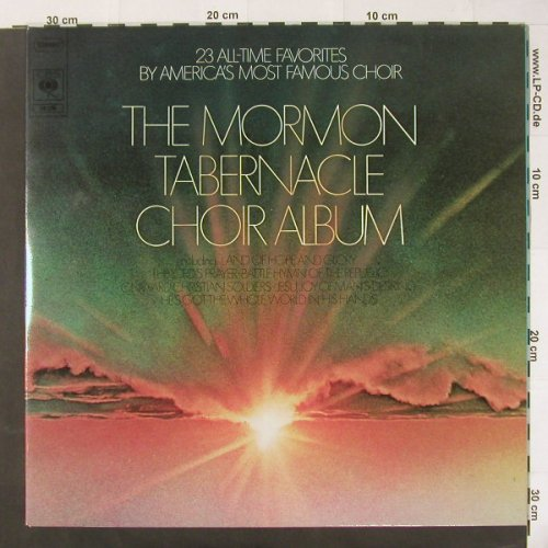 Mormon Tabernacle Chor: 23 All Time Favorites.., Foc, CBS(78276), NL, 1974 - 2LP - C1993 - 6,00 Euro