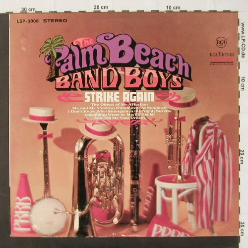 Palm Beach Band Boys: Strike Again, RCA(LSP 3808), D, 67 - LP - C2088 - 7,50 Euro