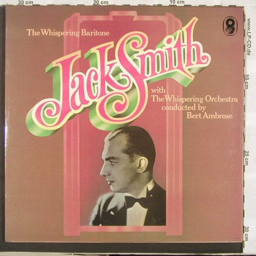 Smith,Jack: The Whispering Baritone, Foc, World Records(SHB 31), UK, 75 - 2LP - C3382 - 9,00 Euro