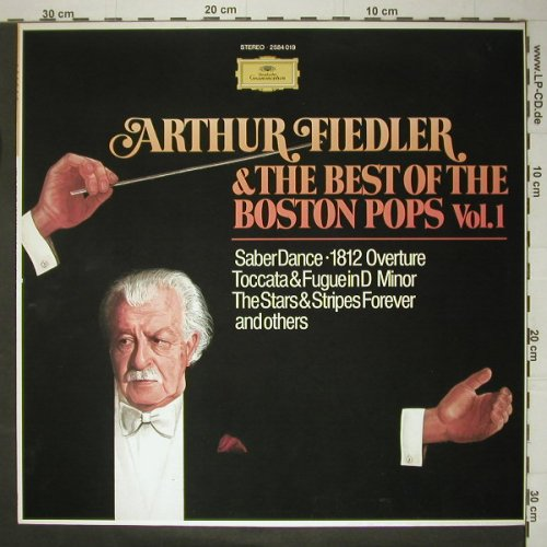 Fiedler,Arthur & Boston Pops: The Best Of Boston Pops Vol.1, D.Gr.(2584 019), D, 77 - LP - C5438 - 5,00 Euro