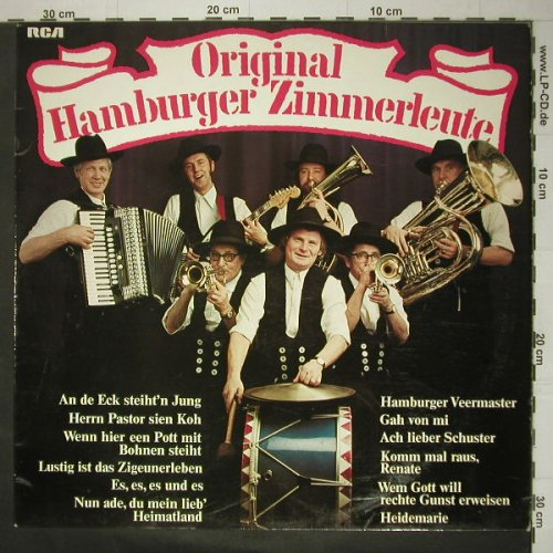 Original Hamburger Zimmerleute: same, RCA(PPL-1-4126), D, 76 - LP - C5461 - 7,50 Euro
