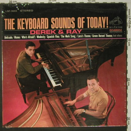 Derek & Ray: The Keyboaed Sound of Today !, RCA Victor(LSP-3665), US, 1966 - LP - C6174 - 7,50 Euro