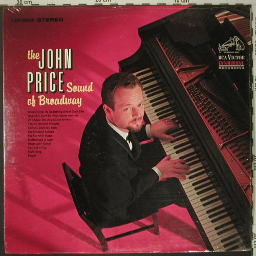 Price,John: The Sound of Broadway, RCA Victor(LSP-3604), US, 1966 - LP - C6175 - 7,50 Euro