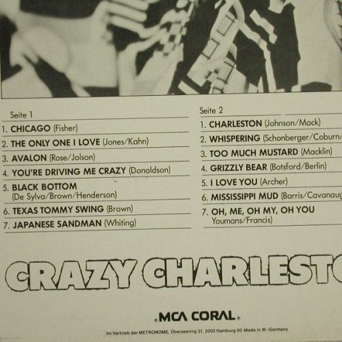 Whiteman's Charlston Band,Paul: Crazy Charlston, Ri, MCA(0052.041), D, 1960 - LP - C6720 - 6,00 Euro