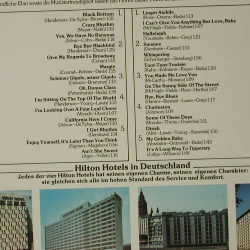 Hilton Roof Garden Orch.-A.Steel: On The Sunny Side Of The Street, Decca(6.22966 AO), D, 1977 - LP - C8506 - 5,00 Euro