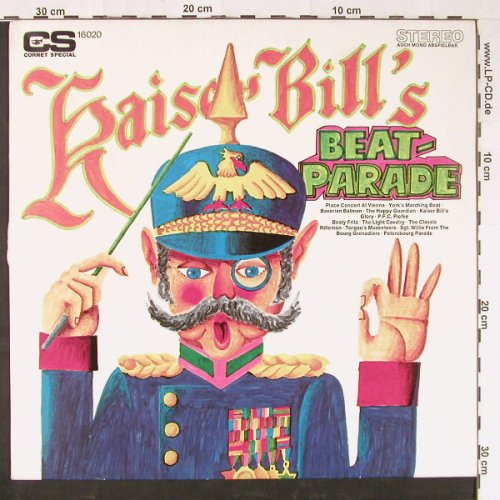 Kaiser Bill - Uwe Borns Singers...: Bill's Beatparade, Cornet SP(16 020), D,  - LP - E1352 - 7,50 Euro
