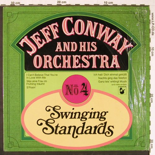 Conway,Jeff and his Orchestra: Swinging Standards No.4, Hansa(203 928-241), D, 1981 - LP - E1451 - 5,00 Euro