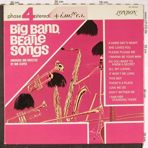 Leaper,Bob: Big Band, Beatle Songs,Foc, London(SP 44056), UK,  - LP - E1896 - 7,50 Euro