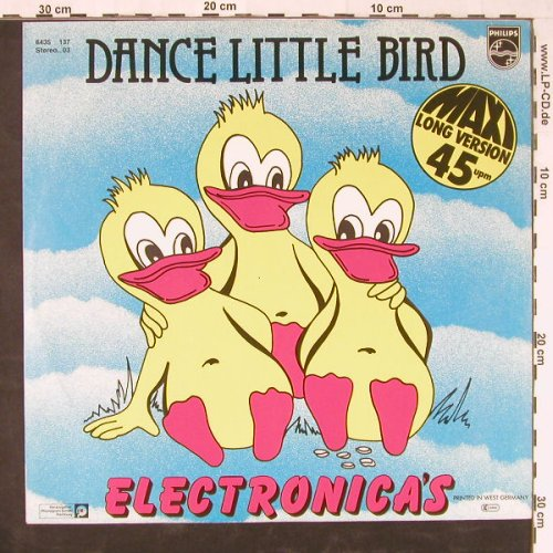 Electronicas: Dance Little Bird+1, Philips(6435 137), D, 1981 - 12inch - E2082 - 2,50 Euro
