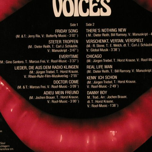 Brauer Band,Jochen: Voices, like new, 6 * signiert, Intercord(INT 160.109), D, 1978 - LP - E2498 - 12,50 Euro