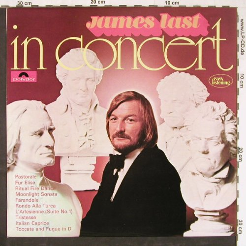 Last,James: In Concert, Polydor(2371 191), UK, 1972 - LP - E3259 - 5,00 Euro