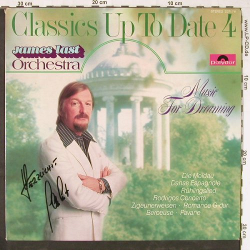 Last,James: Classics Up To Date Vol.4, signiert, Polydor(2371 711), D, vg-/m-, 1976 - LP - E3301 - 25,00 Euro