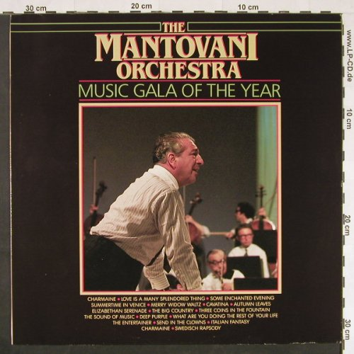 Mantovani Orchestra: Music Gala Of The Year, Masters(281185), NL,  - LP - E363 - 4,00 Euro