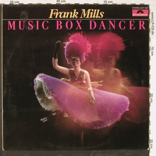 Mills,Frank: Music Box Dancer, vg+/vg+, Polydor(2417 327), D, 1979 - LP - E3938 - 2,50 Euro
