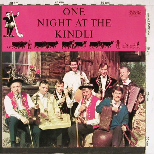 One Night at the Kindli: Life Recording,Schmid Band,sign., ML(LP-30-134), CH,  - LP - E4242 - 6,00 Euro