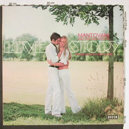 Mantovani and his Orchestra: Love Story, Decca(6.28124 DP), D, 1971 - 2LP - E458 - 6,50 Euro