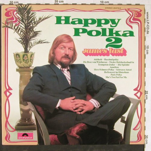 Last,James: Happy Polka 2, Club-Ed., Polydor(28 676-5), D, 1972 - LP - E4665 - 5,00 Euro