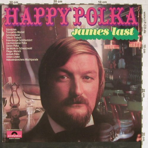 Last,James: Happy Polka, Club-Ed., Polydor(28 647-6), D, 1971 - LP - E4666 - 5,00 Euro