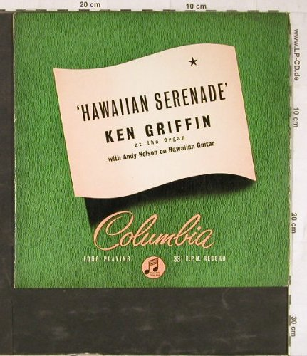 Griffin,Ken & Nelson,Andy: Hawaiian Serenade, Columbia(33S 1057), UK,  - 10inch - E5511 - 7,50 Euro