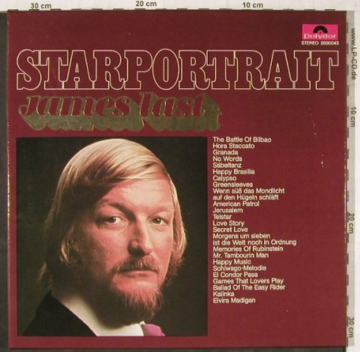 Last,James: Starportrait, Box, Polydor(2630 043), D, 1971 - 2LP - E5894 - 7,50 Euro