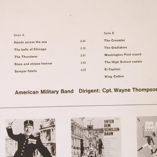 American Military Band: Sousa-Maersche,Cpt.Wayne Thompson, Elite(SOLP-351), D,  - LP - E6542 - 7,50 Euro